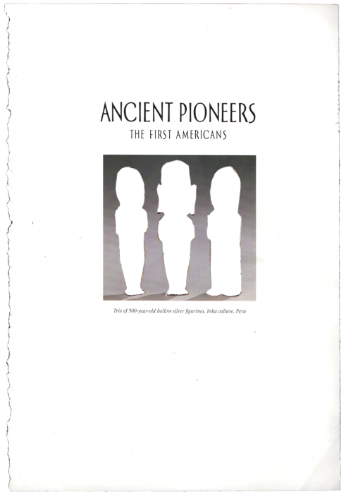 ancient pioneers, 17cm x 24cm, paper cut-out, 2010
