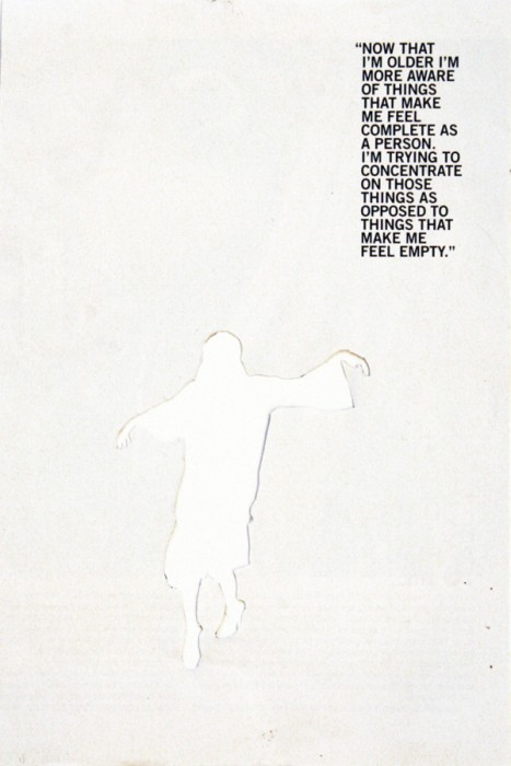 wholism, 18cm x 27cm, cut out, 2008