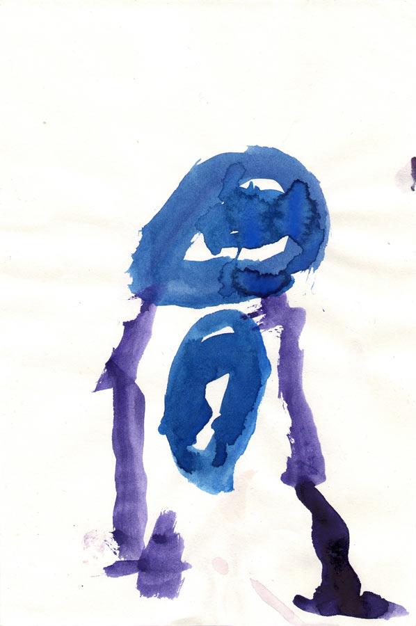 person,-14cm-x-22cm,-watercolor-on-paper,-1984